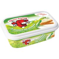 Сир плавлений Весела Корівка із зеленню 60% 180г