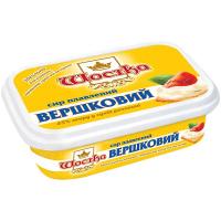 Сир Шостка плавлений Вершковий 45% 180г