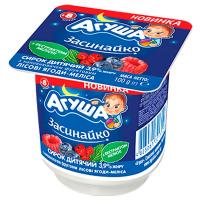 Сирок Агуша Засинайко 3,9% ліс.ягоди-меліса 100г