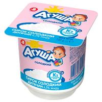 Сирок дитячий Агуша солодкий 4,1% 100г