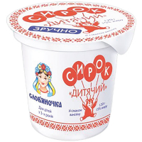 Сирок Слов'яночка Дитячий зі смаком ванілі 15% 120г