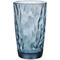 Склянка Bormioli Pocco Diamond Ocean Blue 470мл
