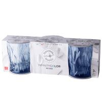 Склянка Bormiolli Rocco 3шт. Wind Saphire Blue Арт.580517САС021990