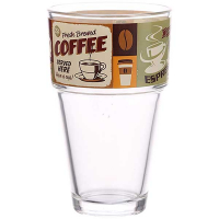 Склянка Cerve 350мл висока Coffee Old Style R04284