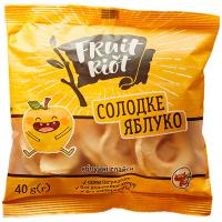 Слайси яблучні Fruit Riot 40г