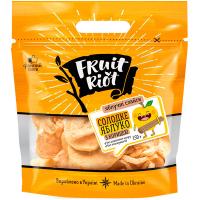 Слайси яблучні Fruit Riot солодкі з корицею 150г