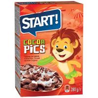 Сніданки сухі Start Cocoa Pics кор. 280г