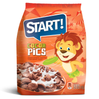 Сніданки сухі Start Cocoa Pics пак. 500г