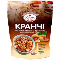 Сніданок Козуб Сухий Кранчі з арахісом 300г