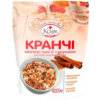 Сніданок Козуб Сухий Кранчі з корицею 300г
