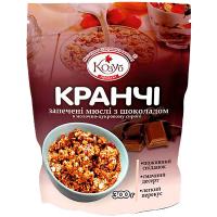 Сніданок Козуб Сухий Кранчі з шоколадом 300г