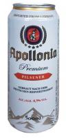 Пиво Appolonnia Premium Pilsner 0.5л