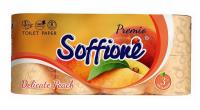 Туалетний папір Soffione Premio Delicate Peach, 8 шт.