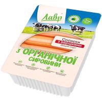 Сосиски Лавр з вершками з органічної сировини вищого сорту 300г