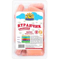Сосиски Ятрань Ятранчик в/г в/у 350г