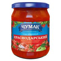 Соус Чумак Краснодарський фірмовий с/б 500г