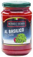 Соус Romeo Rossi Al Basilico с/б 350г