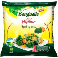 Суміш Bonduelle овочева Весняна на парі заморожений продукт 400г