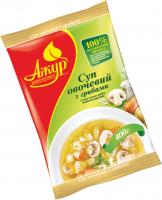 Суп Ажур овочевий з грибами с/м 400г х14