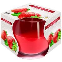 Свічка Bispol Strawberry ароматизована 1шт. sn71-73