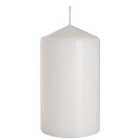 Свічка Bispol Циліндр SW80*150 біла