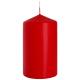 Свічка Bispol Циліндр SW80*150 червона