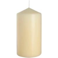 Свічка Bispol Циліндр SW80*150 кремова