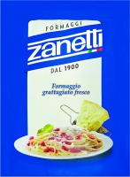 Сир Zanetti Formaggi тертий мікс 32% 100г