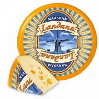 Сир Мааздам 45% Landana Голандія ваг