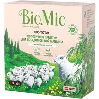 Таблетки для посудомийних машин Bio Mio 7в1 Евкаліпт, 30 штук
