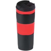 Термос-кружка Bergamo 0,4л червоний арт.5001V-2