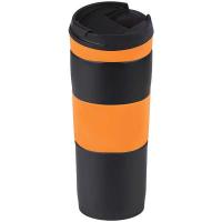 Термос-кружка Bergamo 0,4л помаранчевий арт.5001V-6