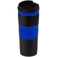 Термос-кружка Bergamo 0,4л синій арт.5001V-3