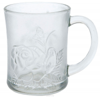 Чашка Top Galerie скло Троянда 290мл Art.845360 х6