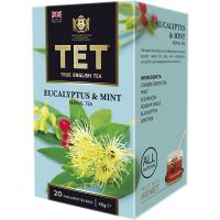 Чай Тет Евкаліпт-м`ята зелений з травами 20пак.*2г