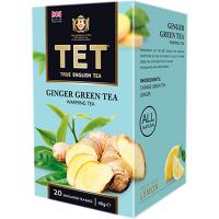 Чай Тет Ginger Green зелений зі спеціями 20пак.*2г