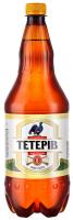 Пиво Перша Приватна Броварня Тетерів Українське міцне світле фільтроване 8% 1,2л