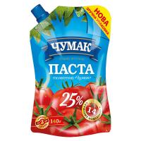 Паста томатна Чумак 25% 140г