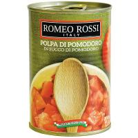 Томати Romeo Rossi шматочки ж/б 400г