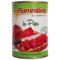 Томати La Fiammante шинковані ж/б 400г