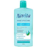 Тонік Novita для обличчя морські водорослі 200мл