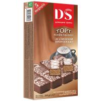 Торт Домашнє Свято вафельний зі см.шоколаду 200г