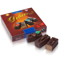 Торт ХБФ Delice шоколадно вафельний 1000г