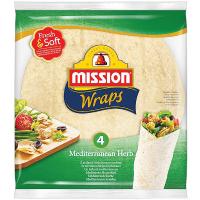 Тортилья Mission Foods середземноморські трави 245г