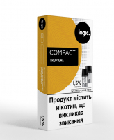 Картридж Logic Compact Tropical 1.5% 2*1.7мл