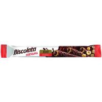 Трубочка Biscolata Nirvana шок.-горіхова начинка 28г