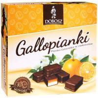 Цукерки Dobosz Gallopianri ванільно-апельсинові 400г