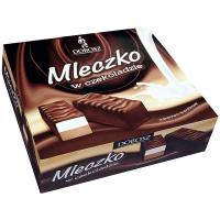 Цукерки Dobosz Mleczko ванільно-шоколадні 400г