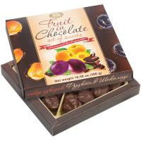 Цукерки ХБФ Фрукти в шоколаді 300г