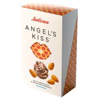 Цукерки Любимов Angel's Kiss молочні з мигдалем 100г